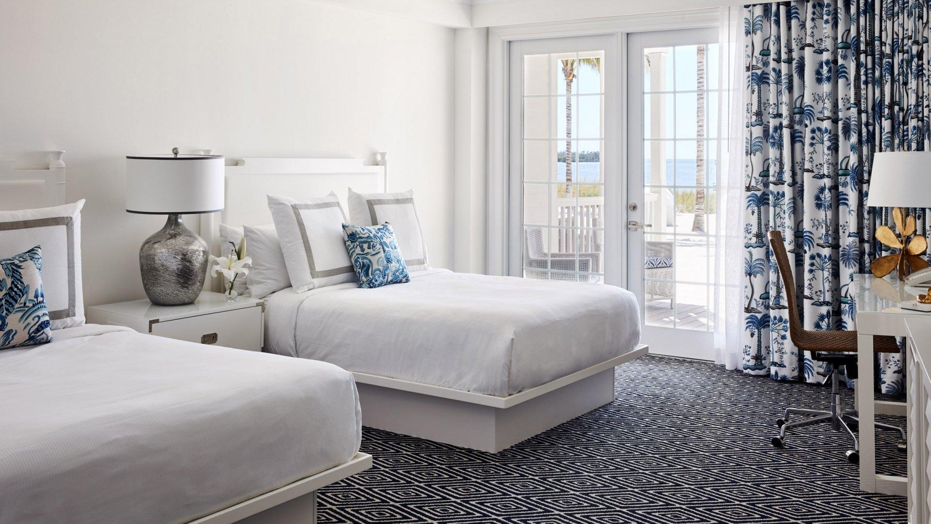 Luxe Beachside Oceanfront 2 Bedroom 2 Bathroom Veranda 2 Queens 1 King Isla Bella Beach Resort Spa